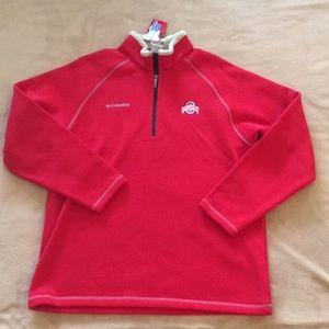 🚫SOLD🚫NWT Columbia OSU Half Zip Pullover